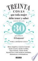 Libro de 30 Cosas Que Toda Mujer Debe Tener Y Saber Antes De Los 30