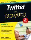 Libro de Twitter Para Dummies   2a Ed.