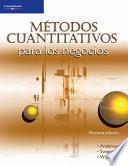 Libro de Métodos Cuantitativos Para Los Negocios