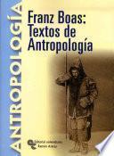 Libro de Franz Boas
