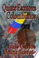 Libro de Quince Escritores Colombianos