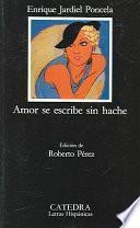Libro de Amor Se Escribe Sin Hache