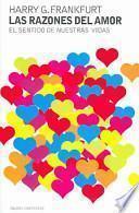 Libro de Las Razones Del Amor