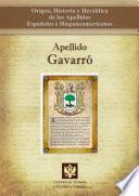 Libro de Apellido Gavarró