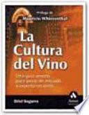 Libro de La Cultura Del Vino