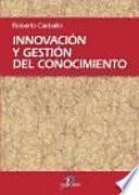 Libro de Innovación Y Gestión Del Conocimiento