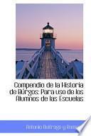 Libro de Compendio De La Historia De Burgos