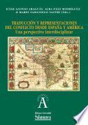 Libro de Traducción Y Representaciones Del Conflicto Desde España Y América