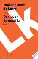Libro de Don Juan De Austria