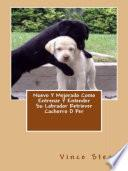 Libro de Nuevo Y Mejorado Como Entrenar Y Entender Su Labrador Retriever Cachorro O Per