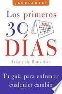 Libro de Los Primeros 30 Dias