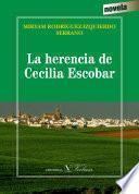 Libro de La Herencia De Cecilia Escobar