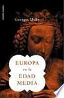 Libro de Europa En La Edad Media
