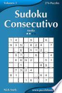 Libro de Sudoku Consecutivo   Medio   Volumen 3   276 Puzzles