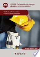Libro de Prevención De Riesgos Laborales En Construcción. Eocb0108
