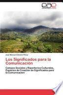 Libro de Los Significados Para La Comunicación