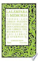 Libro de La Lámpara De La Memoria