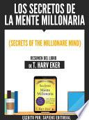 Libro de Los Secretos De La Mente Millonaria (secrets Of The Millionare Mind)