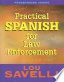 Libro de Practical Spanish For Law Enforcement