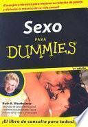Libro de Sexo Para Dummies