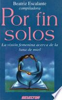 Libro de Por Fin Solos