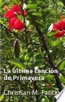 Libro de La última Canción De Primavera
