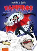 Libro de Dibujo Y Pinto Vampiros