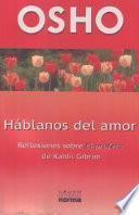 Libro de Hablanos De Amor