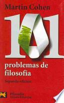 Libro de 101 Problemas De Filosofía