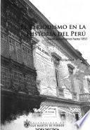 Libro de El Periodismo En La Historia Del Perú