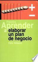 Libro de Aprender A Elaborar Un Plan De Negocio