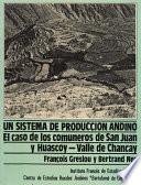 Libro de Un Sistema De Producción Andino