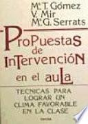 Libro de Propuestas De Intervención En El Aula