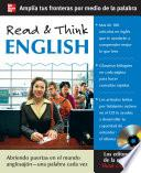 Libro de Read & Think English (book Only)