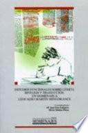 Libro de Estudios Funcionales Sobre Léxico, Sintaxis Y Traducción