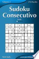 Libro de Sudoku Consecutivo   Fácil   Volumen 2   276 Puzzles