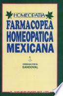 Libro de Farmacopea Homeopatica Mexicana