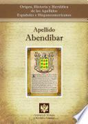 Libro de Apellido Abendibar