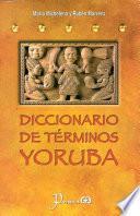 Libro de Diccionario De Terminos Yoruba