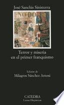 Libro de Terror Y Miseria En El Primer Franquismo