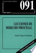 Libro de Lecciones De Derecho Procesal