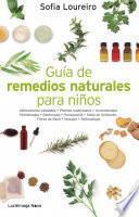 Libro de Guía De Remedios Naturales Para Niños