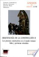 Libro de Arqueología De La Construcción Ii
