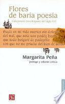 Libro de Flores De Baria Poesía