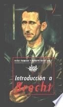 Libro de Introducción A Brecht