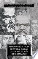 Libro de Adaptacion Para Lectura Coral De La Apologia De Socrates