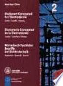 Libro de Diccionari Conceptual De L Electrotècnia
