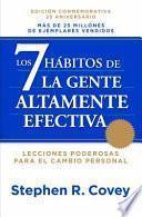 Libro de Los 7 Hábitos De La Gente Altamente Efectiva Ne