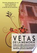 Libro de Vetas De La Memoria
