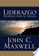 Libro de Liderazgo Promesas Para Su Semana